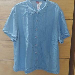 🛍️ Jennifer Moore button down blouse